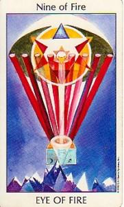 9 of Fire, Tarot of the Spirit