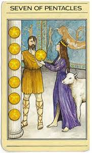 140626 7 of Pentacles Mythic