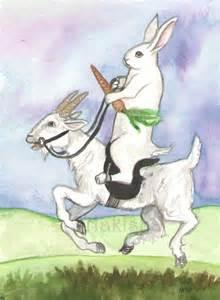 140911 Knight of Swords Rabbit Tarot