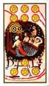 141204 10 of Pentacles Dali