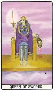 150416 Queen of Swords Golden Dawn Wang