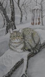 150521 King of Swords Mystical Cat Sky King