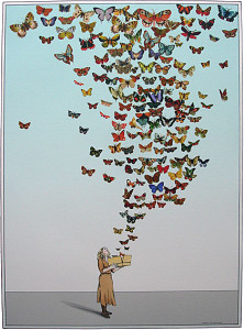 butterflies out of the box